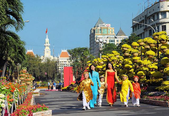 Địa điểm du lịch Tết Nguyên Đán cho người dân Sài Gòn