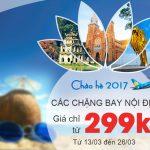 Chào hè 2017 – Vé máy bay hè 2017 giá rẻ chỉ từ 299k