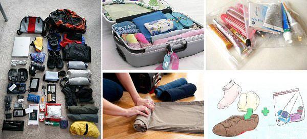 Cách lựa chọn và sắp xếp hành lý khi đi du lịch hiệu quả nhất