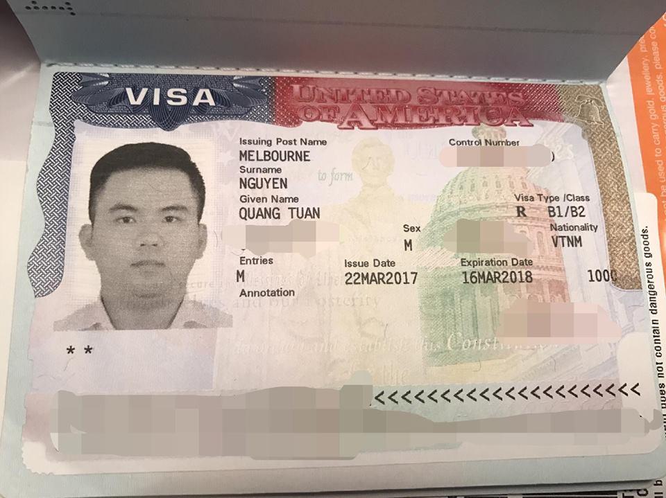 Cách xin Visa Mỹ theo diện du lịch tự túc