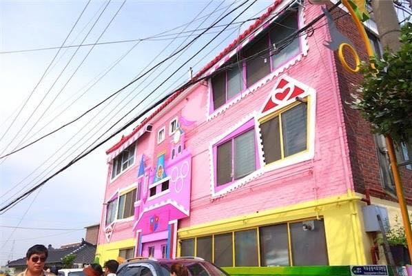 Khám phá ngôi làng trẻ thơ tại Hàn Quốc