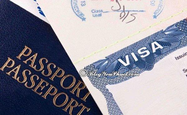 Hướng dẫn xin Visa Pháp - Xin Visa du lịch và thăm thân Pháp?