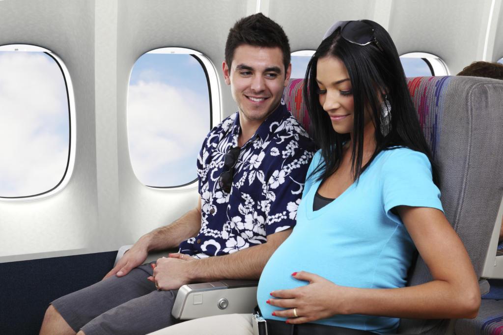 [Hỏi] Phụ nữ mang thai bao nhiêu tuần thì không được đi máy bay?