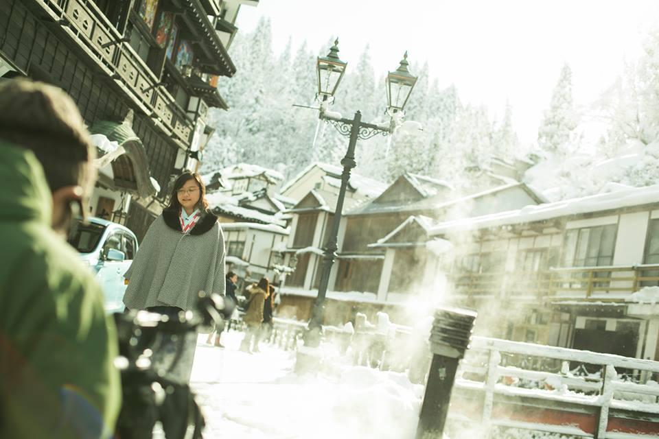 Có một Nhật Bản đẹp sững sờ mùa tuyết rơi