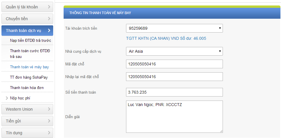 Mẹo giữ vé AirAsia và thanh toán trong 24h (dùng link booking2)