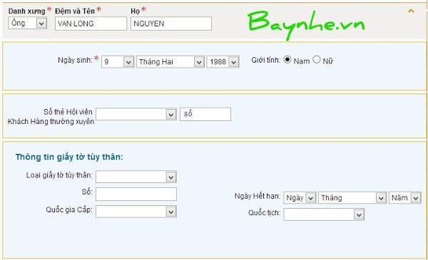 Một số vấn đề gặp phải và cách xử lý khi đặt vé Vietnam Airlines