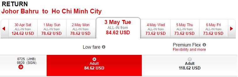 Cách bay sang Johoh Bahru để tới Singapore giá rẻ dịp 30-4