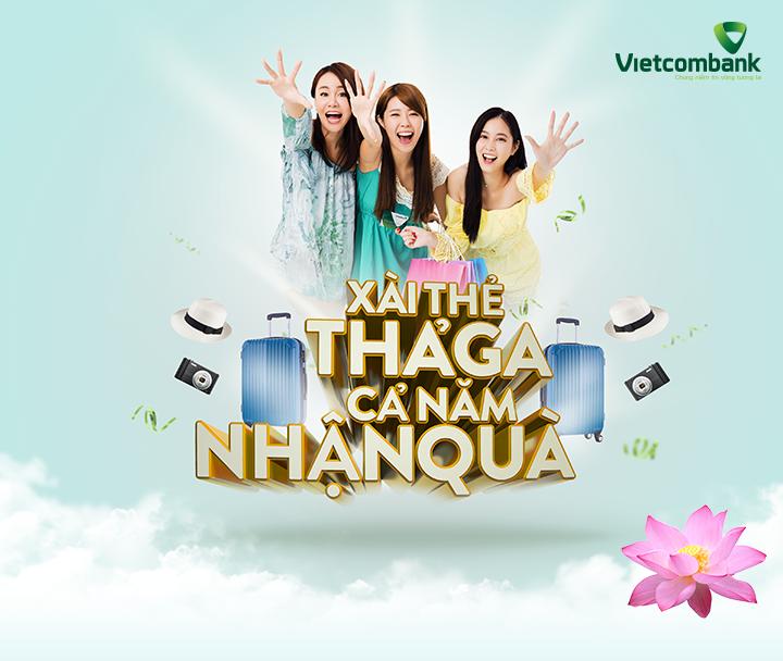 Vietnam Airline - Xài thẻ thả ga, cả năm nhận quà