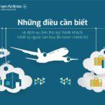 Hướng dẫn làm thủ tục trong thành phố nếu bay Vietnam Airlines