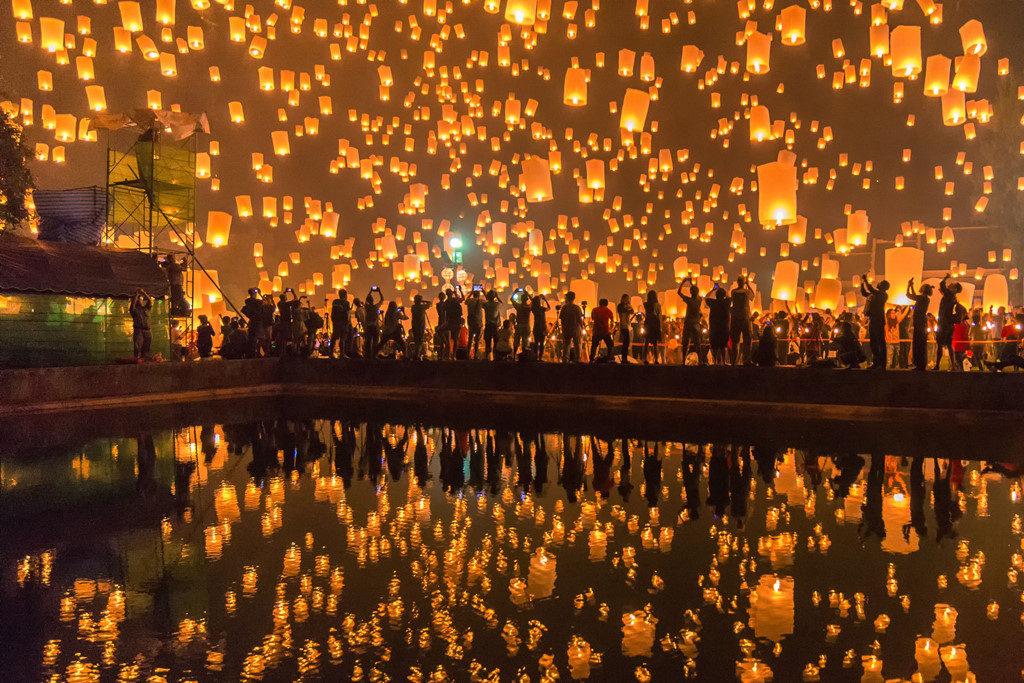 Đến Chiang Mai tham dự lễ hội thả đèn trời thế nào rẻ nhất?
