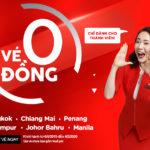 Quá Đã! 5 Triệu Vé 0 Đồng của AirAsia