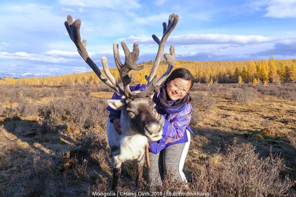 Men lối mùa vàng đến làng tuần lộc Mông Cổ